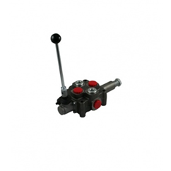 Flowfit 1 bank 3/8  hydraulic log splitter valve with pressure auto kickout max flow 40 l/min