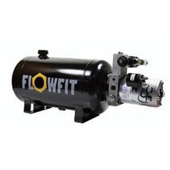 UP100 24V DC Double Acting Solenoid Operated Hydraulic Power unit, 3.5 L/min, 5L Tank
