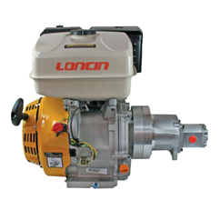 LONCIN petrol engine hydraulic pump set, 5.5HP, 10.5 L/min