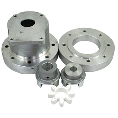 Hatz diesel engine bell housing and drive coupling kit, suits Hatz 1B20 4.2HP to a group 2 pump