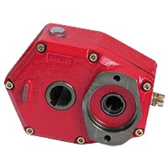 Hydraulic series 97502 cast iron speed reduction gearbox group 2 SAE A-6B, ratio 1:3 69-97502-4