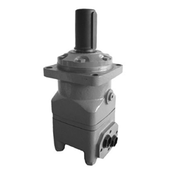 Hydraulic motor 333 cc/rev 4-hole, 50mm parallel keyed shaft