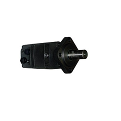 M+S Hydraulic Motor 80 CC/Rev, 4 bolt mount, 32mm straight keyed shaft.