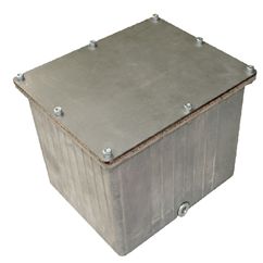 Hydraulic Aluminium tank and accessories, 6.5 Litre tank