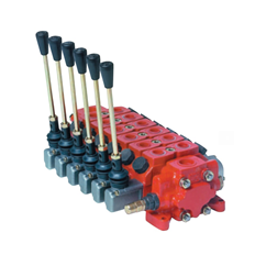 Bucher 1 Bank, 3/4  BSP, 120 l/min Double Acting Spring Return Slice Directional Hydraulic Control Valve