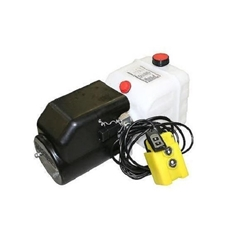 Flowfit 12VDC Single Acting Hydraulic Power pack with 4.5L Tank & Wireless Remote ZZ004536