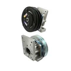 Flowfit Hydraulic Electromagnetic clutch 12V 10 Kgm/daNm Group 1 and 2 Flange 29-30901