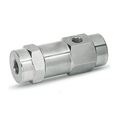 Hydraulic 3 way single pilot operated check valve, VBPSL 1/4