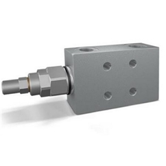 Hydraulic single overcentre valves flangeable, closed centre, VBCD 3/8  SE FLC CC, pilot ratio 1:4,5