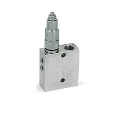 Hydraulic direct acting sequence valve, 3/8