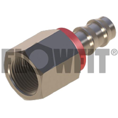 BSP Swivel Female x Push-in Straight, 1/4  x 1/4