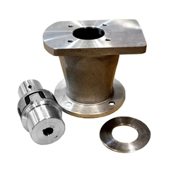 Petrol Engine Bell housing and drive coupling kit to suit group 2 pump, 3/4  Shaft