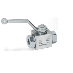 Hydraulic 2 Way Ball Valve 1/4 BSP ports