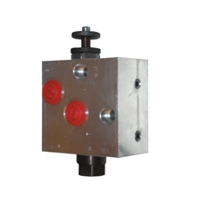 BVR type motor mounted pressure compensated flow control valve