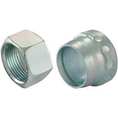 Walpro Nut & Profile Ring, Light Duty, Outside Diameter 6mm