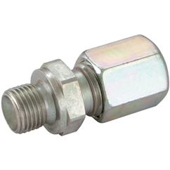 Hydraulic Tube Male Stud Coupling, BSPP 60° Cone, 1/8  BSPP x 6mm, LD