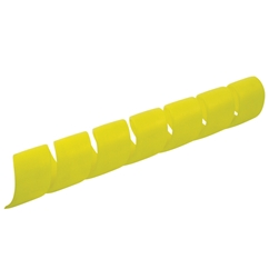 Protective Hose Sleeve, Yellow, Polypropylene - 10mm Bore, 20 Metres