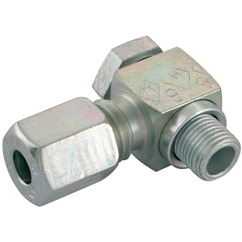 Banjo Couplings, Seal Edge Metric, Light Duty, Thread Size M10 X 1, OD 6mm