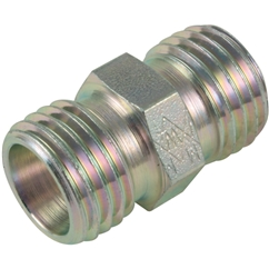 Straight Coupling, Heavy Duty, Outside Diameter 6mm