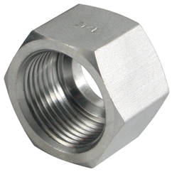 Nut, L Series, Tube OD 6mm