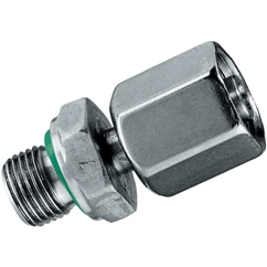 Pre-assembled Standpipe Adaptor, L Series, 1/8  BSPP, Tube OD 6mm