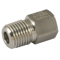 Equal Male x Female Adaptor, Male x Female, NPT, Thread Size 1/8''