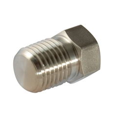 Pipe Plugs, NPT, Thread Size 1/16''