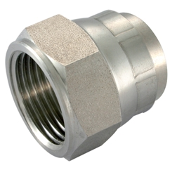 Stainless Steel Swivel Caps, UNF 7/16'' -20