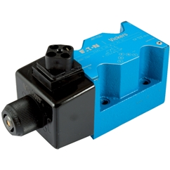 EATON vickers Cetop 5 Solenoid Valve, 2 Position, All Ports Open, Spring Offset End to Centre, 110V AC Voltage, DG4V 5 0B M U A6 20