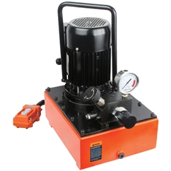 Eagle Pro Electric Pump, Two Stage, 0.55 kW, 5.9 Litres, For use with Single Acting Cylinder