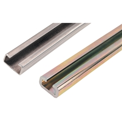 RSB Series Clamping Rails, Series: A & B, Stainless Steel, Length in Metres: 1, Depth in Milimeters: 11