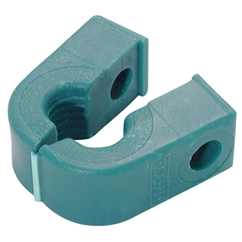 RSB Series O Clamps, Single Polypropylene, Outside Diameter: 6mm, Group 1