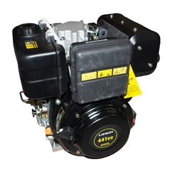 Loncin Diesel Engine, 9HP Single Cylinder, 4-Stroke Air Cooled Direct Injection