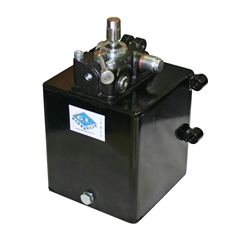 Zero Effort System for Double Acting Cylinder, 0.45CC Gear Pump, 4 Litre Tank