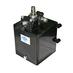 Zero Effort System for Single Acting Cylinder, 0.45CC Gear Pump, 4 Litre Tank