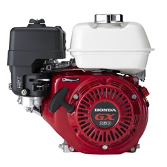 Genuine Honda 5.5 HP Single Cylinder 4 Stroke Air Cooled Petrol Engine, Recoil Start, Horizontal Mount (Red) EU Only