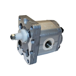 Flowfit Hydraulic Gear Pump, Group 1, 1.1CC, 3/8  Inlet & 3/8  Outlet BSP Ports, 4 Bolt EU Flange