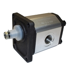 Flowfit Hydraulic Gear Pump, Group 2, 4CC, 1/2  Inlet & 3/8  Outlet BSP Ports, 4 Bolt EU Flange
