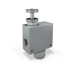 2 Port Flow Control Compensated Valve, 3/8  Ports