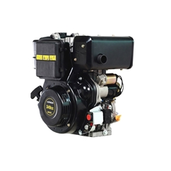 Loncin Diesel Engine, 6.5 HP Single Cylinder, 4-Stroke Air Cooled Direct Injection