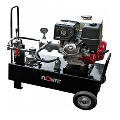 Loncin Petrol Engine Driven, Hydraulic P & T Circuit Power Unit, 13HP, 25.5 L/min, 50L Tank