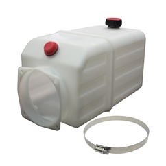 Plastic Tank Suitable for Flowfit 12 and 24V DC Power pack, 1.5 Litre
