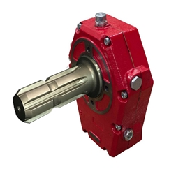 Hydraulic Series 70012 Cast Iron PTO Gearbox, Group 3, Male Shaft, Ratio 1:3.5 37Kw 121-70012-5