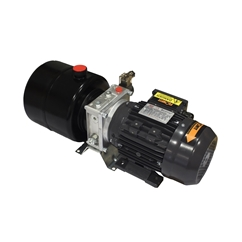 Flowfit Hydraulic AC Power unit, 110v, Single phase, Single Acting Circuit, 0.55Kw, 1.08L/min