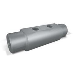 Hydraulic Cylindrical Double Pilot Operated Check Valve, VBPDE 3/8  Cylindrical, Pilot Ratio 1:5