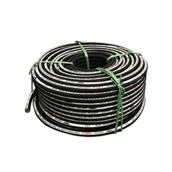 Reel of 2 Wire 100R2AT STANDARD Hydraulic Hose, 1/4  Bore, 10 Metre Coil