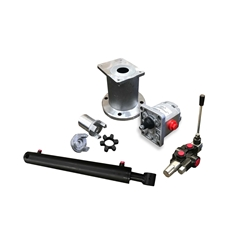 Log Splitter Kit With A Flowfit Auto Kickout Lever Valve For A Honda / Loncin Engine
