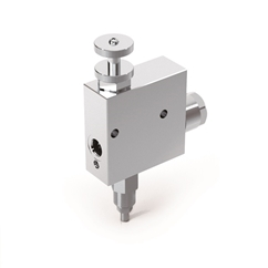 Hydraulic 3 Way Flow Control Valve With Excess to Tank And Relief Valve, RFP3 3/8  c/VMP