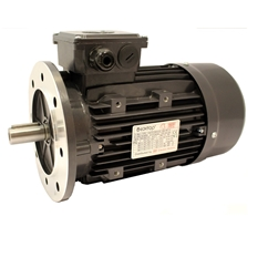 Three Phase 400v Electric Motor, 18.5Kw 4 Pole 1500rpm With Flange Mount, Frame Size 160, Aluminium Housing