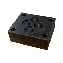 Cetop 3 Blanking Plate, No Gauge Port